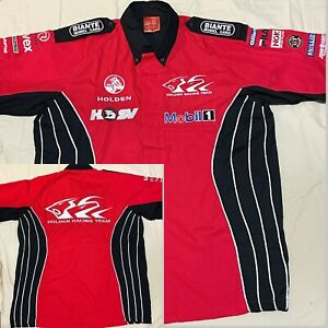 HOLDEN RACING Team VINTAGE Mobil1 HSV Mens RACING TEAM SHIRT AUTHENTIC SMALL VGC