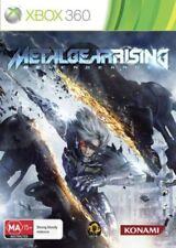 Xbox 360 Metal Gear Rising Revengeance Konami Game Disc