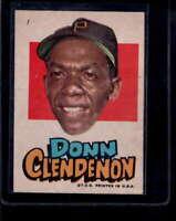 1967 Topps Pirates Stickers #7 Donn Clendenon  EXMT X1696400