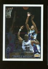 2003-04 Topps Chrome Draft Pick #3 Carmelo Golden Nuggets RC Rookie