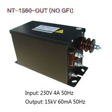 European Neon Core Coil Power Supply 15KV60mA900W Tesla Experiment Transformer