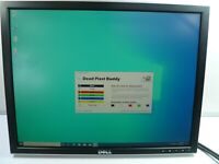 "DELL 2007FPb 20"" WIDESCREEN 1600 x 1200 LCD FLAT SCREEN MONITOR - NO STAND"