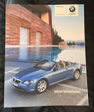 2004 2005 BMW Miniature Deluxe Model Brochure 2002 Z8 Art Cars M1 635CSi