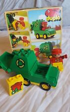 Lego Duplo set 2613. recycle truck. 1990.