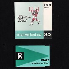 Pfaff Sport Soccer Golf Embroidery Designs Card #30 for 7570 2140 2160 2170