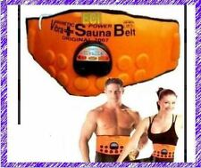 Sauna Magnetic Vibrate Massage Fat Burn Slim Waist Belly Weight Loss Belt Kit GR