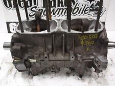 Ski Doo 500 Formula SL Rotax 503 Twin Snowmobile Engine Crankshaft/Cases, Nice!