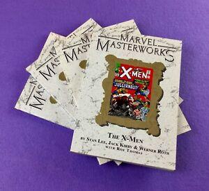 Marvel Masterworks TPB Lot: 4-Bk-  X-men, Incredible Hulk, more!