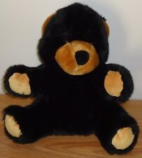 "Wild Republic BLACK BROWN BEAR CUB 11"" stuffed plush Hand Puppet"