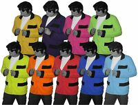 Rock N  Roll Teddy Boy Jacket Showaddywaddy Fancy Dress