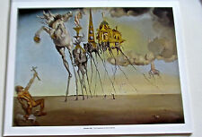 Salvador Dali- The Temptation of Saint Anthony Poster 14x11 Unsigned