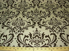~9 YDS~VICTORIAN ELEGANCE~LINEN UPHOLSTERY FABRIC~FABRIC FOR LESS~