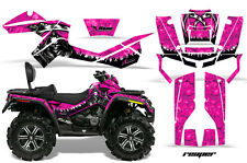 Can-Am Outlander Max ATV Graphic Kit 500/800 AMR Decals Sticker REAPER PINK