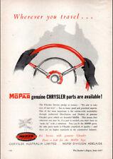 "1957 CHRYSLER MOPAR PARTS AD A4 POSTER GLOSS PRINT LAMINATED 11.7""x8.3"""