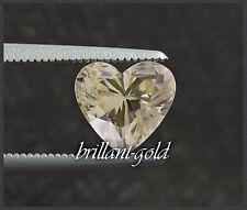 Diamant im Herz Schliff 0,43ct mit Zertifikat, direkt aus Antwerpen, unbehandelt