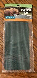 Loop-Loc Patch Kit 3M Mesh Green - 3 Pack