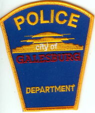 Galesburg City Police Department Michigan MI Police Patch