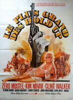 Plakat Kino Western Le Plus Grand Des Hold Up - 120 X 160 CM