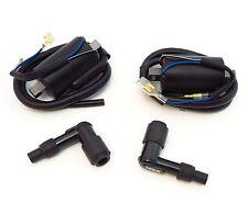 Ignition Coils and Caps - Set of 2 - Honda CB/CL/SL350 CB/CL/CJ360 twins