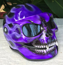 Sugar Skull Girls Helmet Skull Death Visor Girls Helmet Ghost Rider Full Face