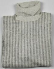 Ermenegildo Zegna Mens 100% Cashmere Knit Turtleneck Sweater Size 52 L $890 NEW