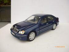 Anson Mercedes-Benz C-Klasse 1:18 Metallic Blue NEAR MINT OHNE BOX RARE!!!
