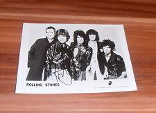 Mick Jagger * ROLLING STONES *, originale signed photo 13x18 cm * qualcosa a macchie *
