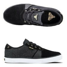 Fallen Shoes Strike Black Denim Gold USA SIZE Skateboard Sneakers