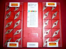10.Stk. Sandvik VBMT 16 04 08-UR H13A Wendeschneidplatten ***NEU***