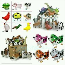 LOT OF (12) WALKING ANIMAL BALLOON PETS AIR WALKER HELIUM BIRTHDAY PARTY