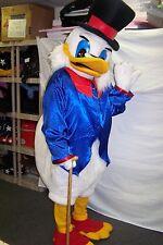 New Scrooge Duck adult mascot costume / Halloween special