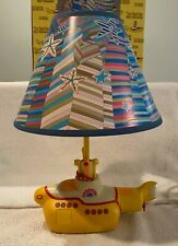 The Beatles Yellow Submarine Table Lamp - Vandoor - 1999 - Original Box