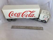 1991 Coca-Cola Collectors Club Scottsdale AZ Cardboard Coke Semi Truck & Trailer