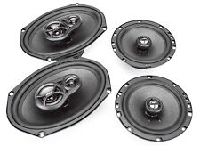 "Skar Audio 6""x9"" 300W 3 Way + 6.5"" 200W Car Audio Speakers System - 4 Speakers"