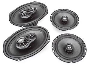 """Skar Audio 6""""x9"""" 300W 3 Way + 6.5"""" 200W Car Audio Speakers System - 4 Speakers"""