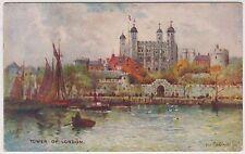 (LK220) 1937 GB postcard tower of London