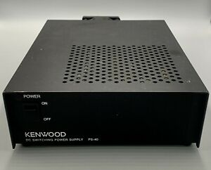 Kenwood Power Supply PS-40 20 Amps Discontinued Used Not Tested No Cord