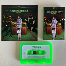 More details for tion wayne - green with envy spotify exclusive green cassette x/300 +signed card