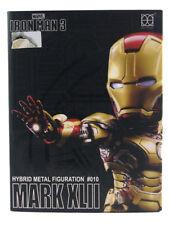 Iron Man 3 Hero Cross Hybrid Metal Figuration #010 Mark 42 Armor Figure Marvel