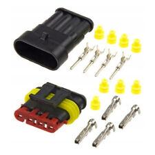 Verbinder Stecker Buchse Schwarz Wasserdicht Elektrisch Draht IP67 Heiß