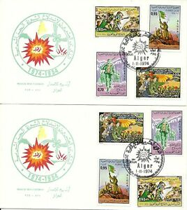 FDC and FDS Algeria 1974 3