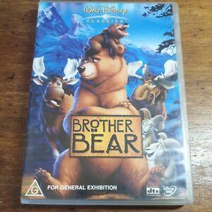 Brother Bear Disney DVD R4 LIKE NEW FREE POST Joaquin Phoenix Rick Moranis