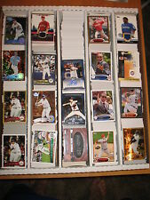 2012 Topps  Baseball  Base and Inserts  1334 Card Lot