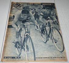 MIROIR SPRINT 642 1957 CYCLISME TOUR FRANCE ANQUETIL BAFFI VAN EST