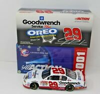 Kevin Harvick #29 GM Goodwrench Service Plus OREO Show Car 2001 Monte Carlo New