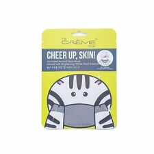 SALE! The Crème Shop Cheer up, Skin! Zebra Face Mask with Hyaluronic & Pearl
