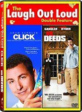 CLICK / MR DEEDS DVD R1 ADAM SANDLER