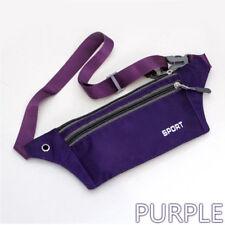 Running Cycling Waist Pouch Bag Fanny Pack Travel Sport Holiday Belt Zip Bum Bag