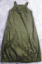 Woman's Dress Size S Small Kate Spade Khaki Green 100% Cotton Parachute Bottom