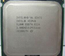 MATCHED PAIR  INTEL XEON QUAD CORE E5472 3.0GHz CPU PROCESSOR SLANR 12MB 64 BIT